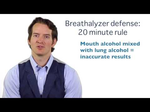 Are you eligible for the 20 min. breathalyzer defense in GA?