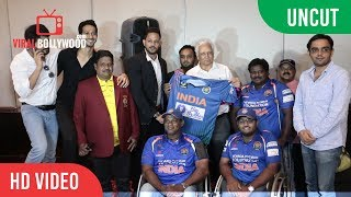 UNCUT -  Indian National Disabled Cricket Team | Press Conference | Mohinder Amarnath, Hiten Tejwani