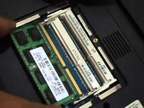 Sony Vaio E series Laptop RAM removal procedure