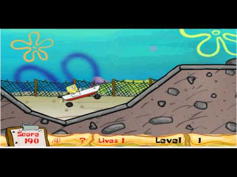 Spongebob Boat O Cross Gameplay and Commentary