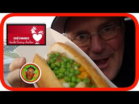 Red Rooster Roast Dinner Roll | Mash & Gravy Balls | Review