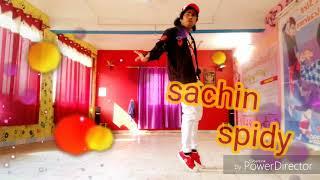 Teri Aankhya ka yo kajal song sachin spidy free style dance in dehradun😍😍😍😍😍