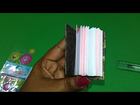 How to Make a Paper Modular Mini Book - Easy Tutorials