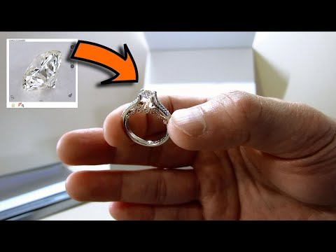 Easy, Less Stress, Save $. Just Buy Diamond Engagement Ring Online at JamesAllen - Unboxing Verragio