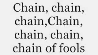 Aretha Franklin  Chain Of Fools  Lyrics