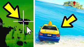 WHAT HAPPENS IF YOU SEND A TAXI TO AN ISLAND? (GTA 5)