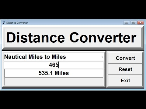 How to Convert From Miles to Kilometers in Python