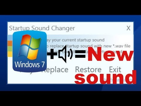 How To Change Your Windows Startup Sound|Windows 7,8,8.1,10