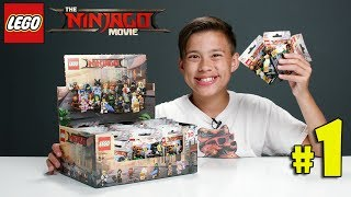 LEGO NINJAGO MOVIE MINIFIGURES!!! Let