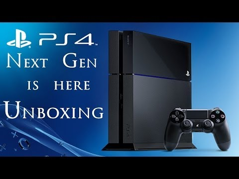 Playstation 4 - Unboxing - (PS4) - Next Gen is Here!