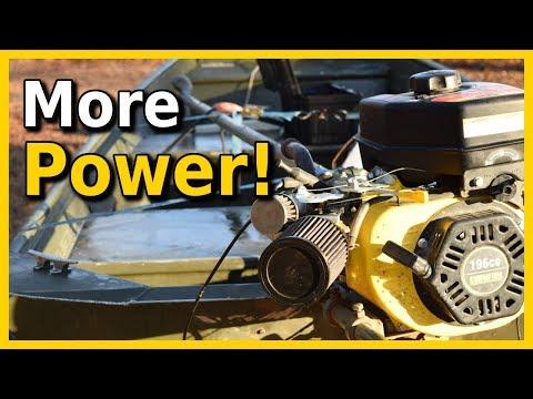 Homebuilt Boat Horsepower