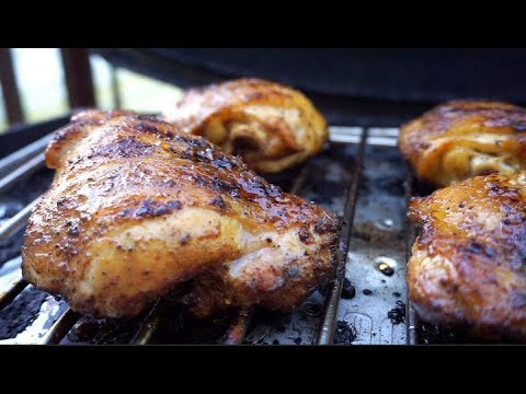 Spicy Honey Glazed Chicken Thighs