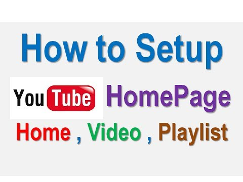 How to Setup YouTube Homepage ?? Add Videos On Youtube Homepage (Youtube Tips For Beginners)