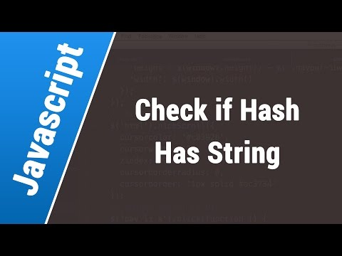 Javascript Arabic Tutorials - Check If Url Hash Contains String