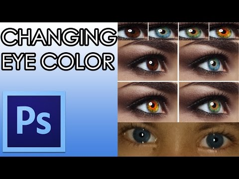 How to Change Eye Color in Photoshop Lang Bengali