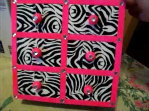 DIY Neon Pink and Zebra Prink