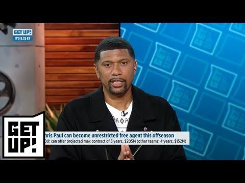 Jalen Rose: 'If I'm LeBron James, I'm not leaving Cleveland' | Get Up! | ESPN