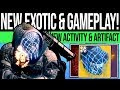 Destiny 2 NEW ACTIVITY amp EXOTIC REVEALED Artifact Perks Assassin39s Cowl Nightmare Hunt amp Map