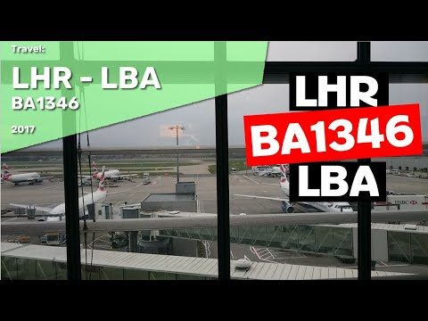 London Heathrow to Leeds Bradford BA1346