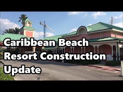 Disney's Caribbean Beach Resort | Construction Update 2017 | Walt Disney World