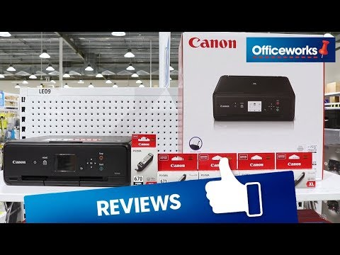Canon Pixma Home Wireless Inkjet MFC Printer TS5060 Overview