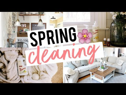 SPRING CLEAN WITH ME! Non-Toxic, Natural, + Easy!!