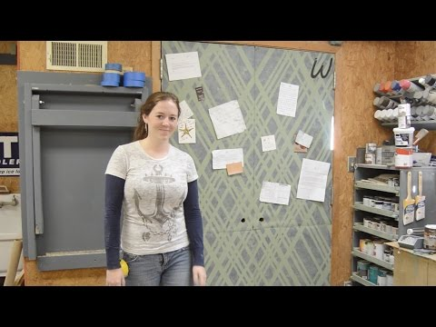 DIY Shop Corkboard