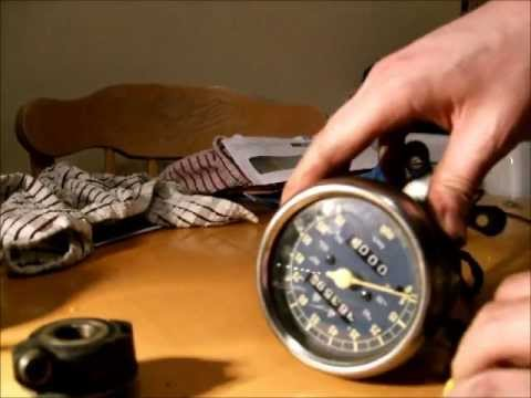 Motorcycle Speedometer components: How a speedometer works