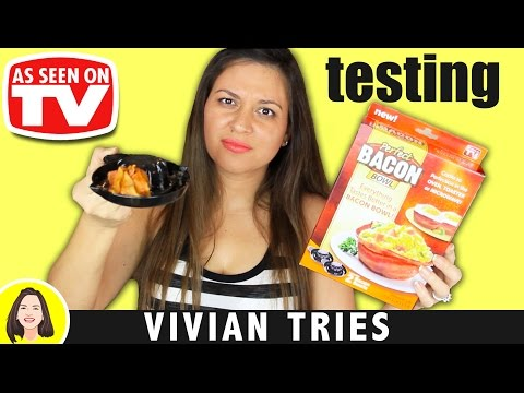 PERFECT BACON BOWL REVIEW | TESTING AS SEEN ON TV PRODUCTS