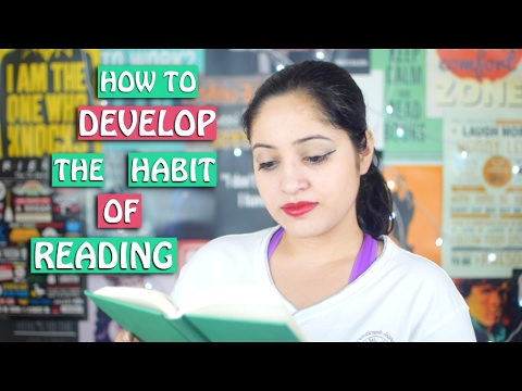 How To Develop The Habit Of Reading? | Booktuber