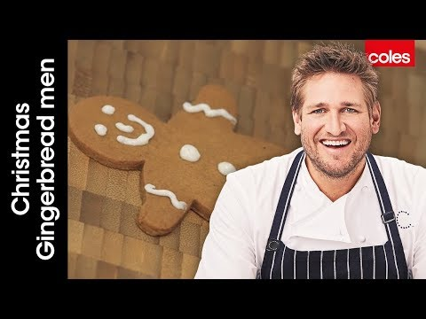 How to make Christmas gingerbread men with Curtis Stone