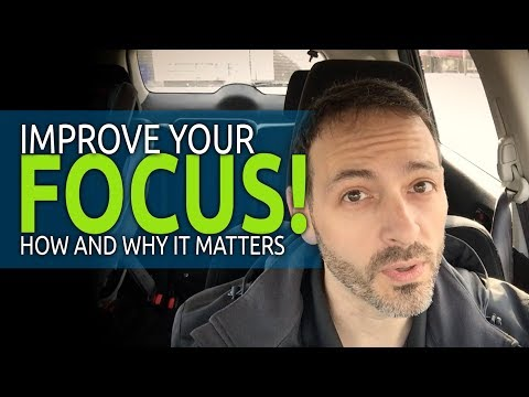 How to Focus - Improve Motivation and Be Happier