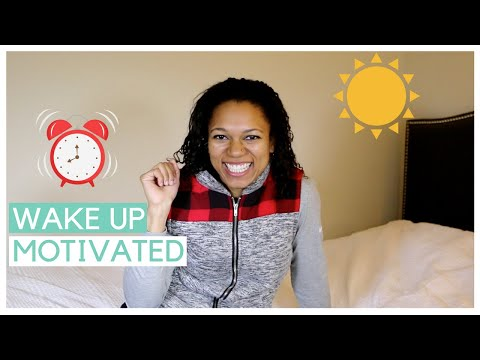 How To Wake Up Motivated, Healthy, and Productive Every Morning