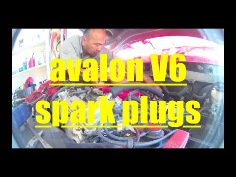 Toyota Avalon V6 DETAILED Spark Plug Replacement √