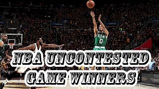 "NBA ""UNCONTESTED"" GAME WINNERS"