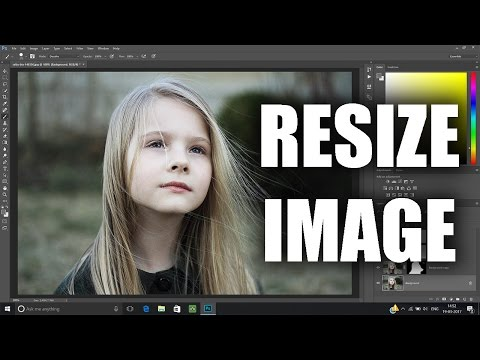 How to resize image in Photoshop without losing quality