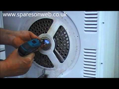See how to replace bearing on your tumble dryer | DIY video