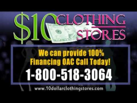 How To Video - Start your own clothing, fashion or apparel store - 10 Dollar Clothing Stores
