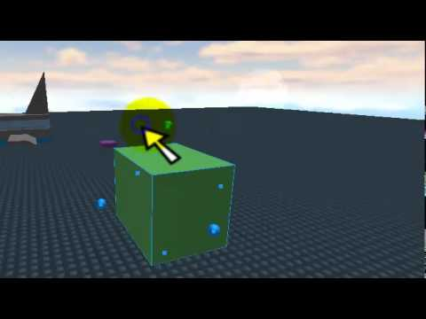 How to make a flashing Brick on ROBLOX (ohiminthehouse)