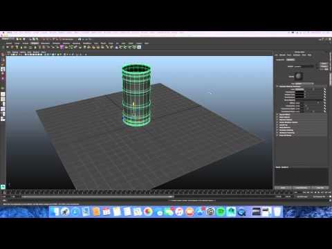 Wireframe Rendering Maya 2015