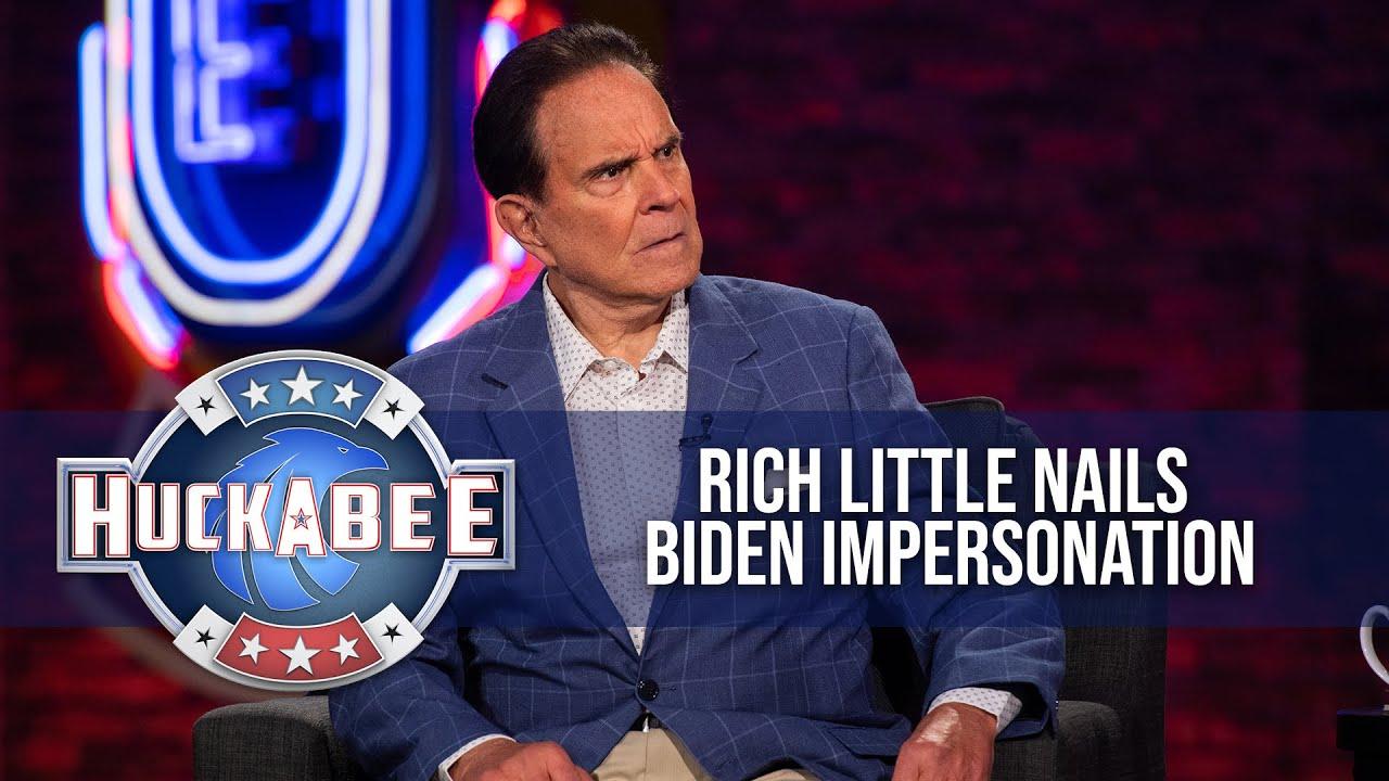Rich Little Impersonates Reagan, Joe Biden, Mike Lindell & MORE! | Huckabee