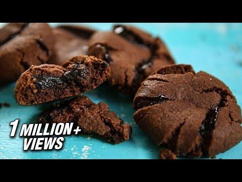 How To Make Molten Lava Cookies | Chocolate Lava Cookies Recipe | Eggless Cookies | Upasana Shukla
