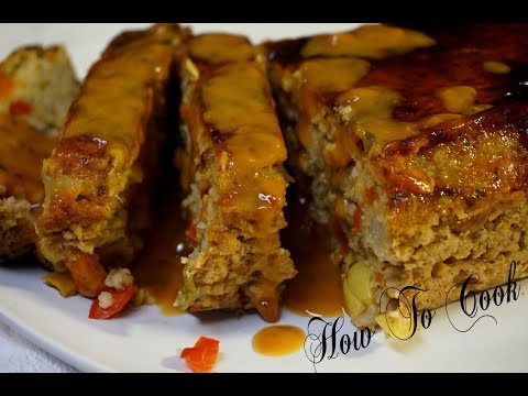 The World's BEST Vegan Vegetarian meatless (MEAT LOAF)How to cook