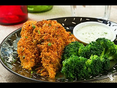 Cornflake Crusted Chicken Tenders Cooking Instructions