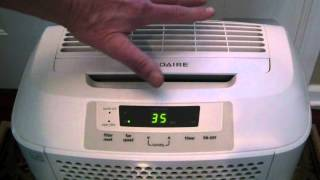 Review Frigidaire FAD704DWD 70-pint dehuidifier
