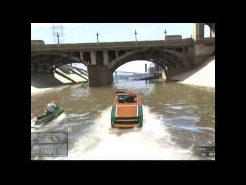 gta!!!! with a dvr and writing its a tester video