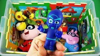 Learn videos for kids. Characters, vehicles & colors - PJ Masks, Peppa Pig, Monsters and other toys