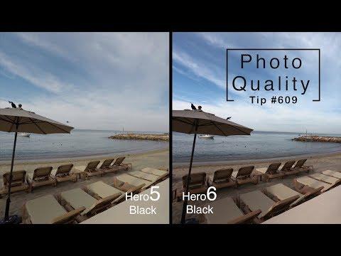 GoPro Hero5 vs Hero6 Photo Quality Comparison - GoPro Tip #609