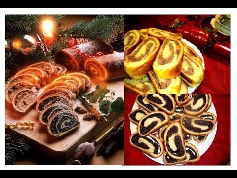 Hungarian Walnut Roll/Poppy Seed Roll/Beigli