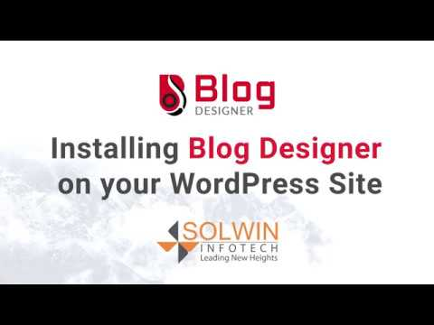 Blog Designer Installation & Demo | WordPress Blog Design Plugin